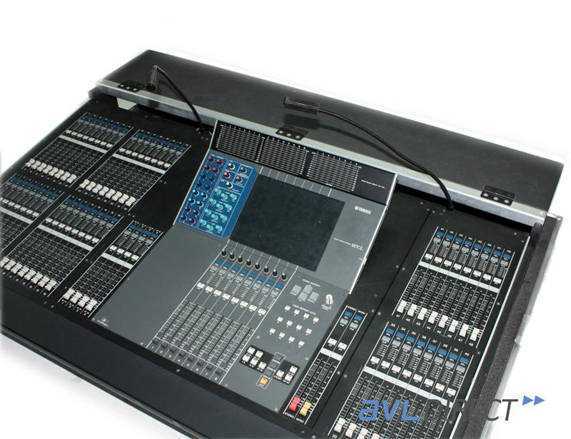 Yamaha m7cl 48 channel digital mixer m7 console w case ebay for Yamaha digital console